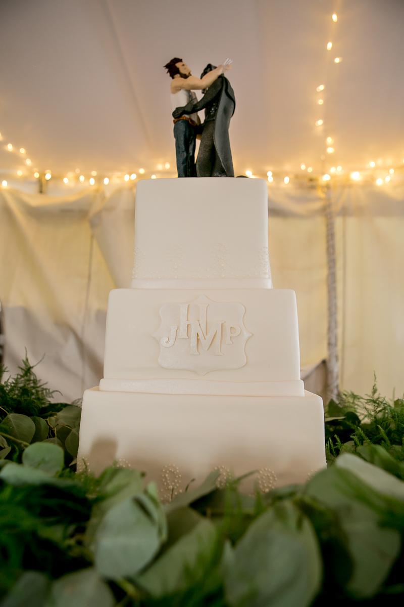 colorado castle wedding wedding cake