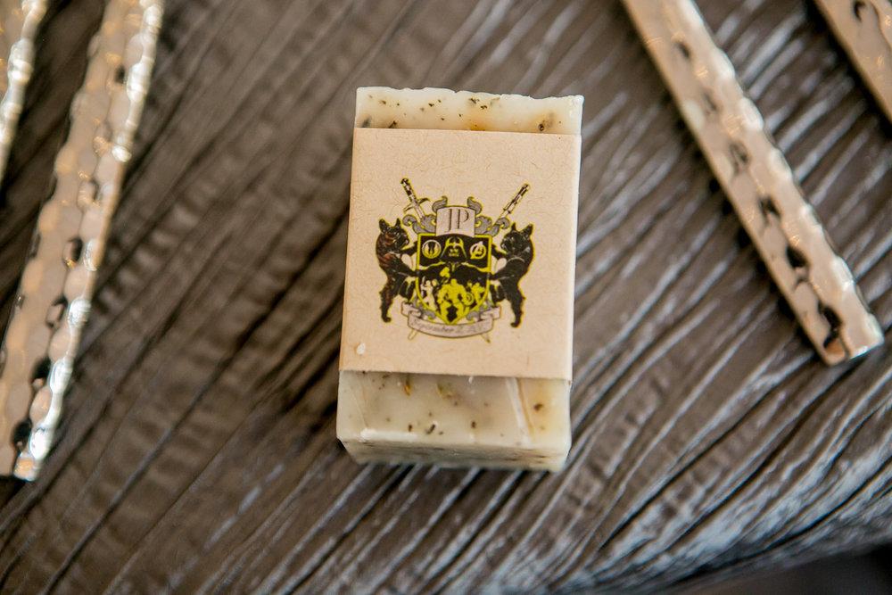 colorado castle wedding soap favor