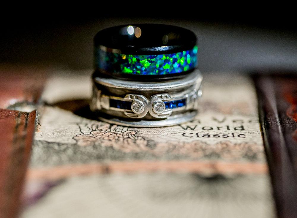 colorado castle wedding wedding rings