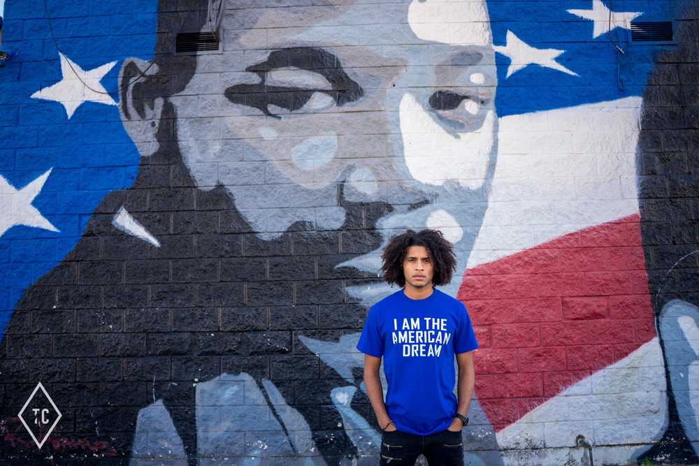 MLK Day Tribute High School Senior Photo Session Houston Texas Photographer Tomayia Colvin