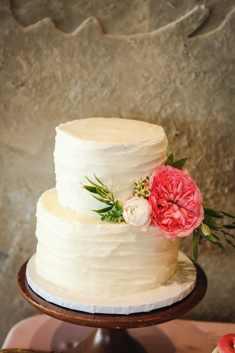 Dreamy pastels dallas texas wedding cake