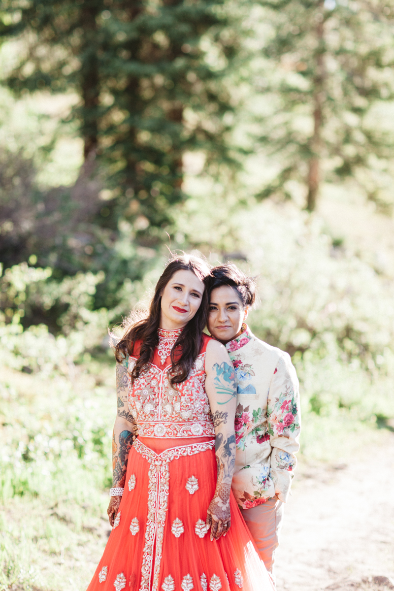 DENVER SAME-SEX INDIAN WEDDING ALBERTINE AND MONICA