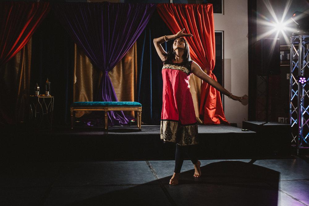 DENVER SAME-SEX INDIAN WEDDING GUEST DANCING