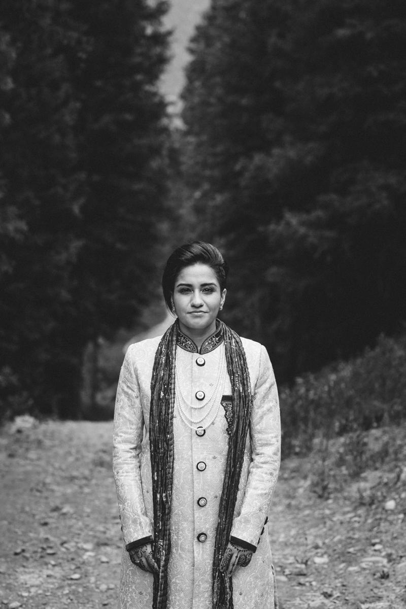 Denver Same-Sex Indian Wedding monica portrait