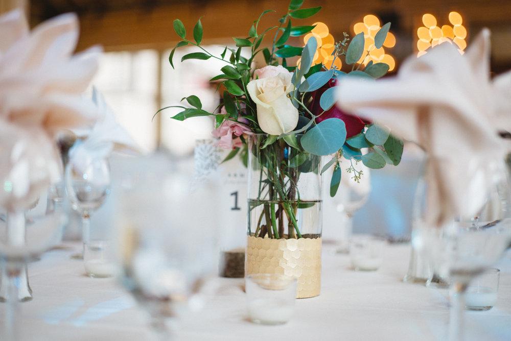 denver same-sex indian wedding table setting