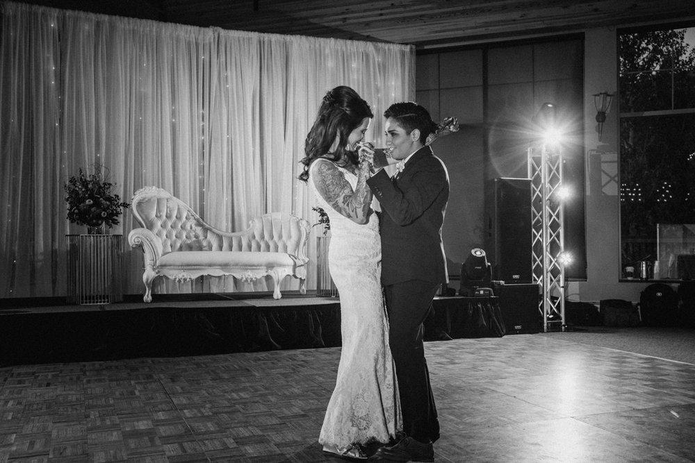denver same-sex indian wedding first dance