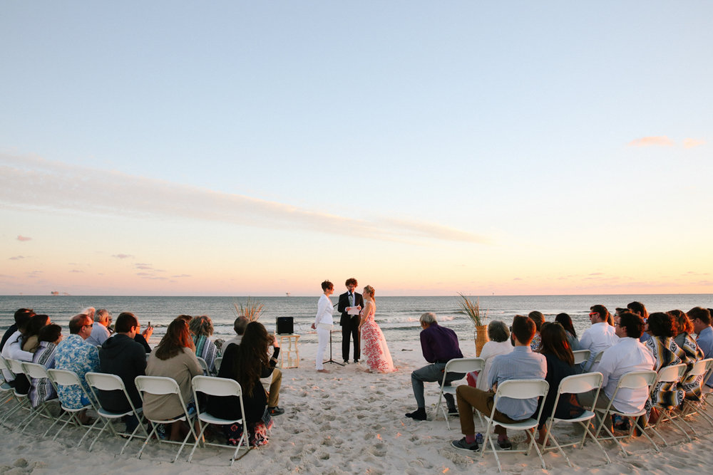 gulf shores destination wedding beach ceremony
