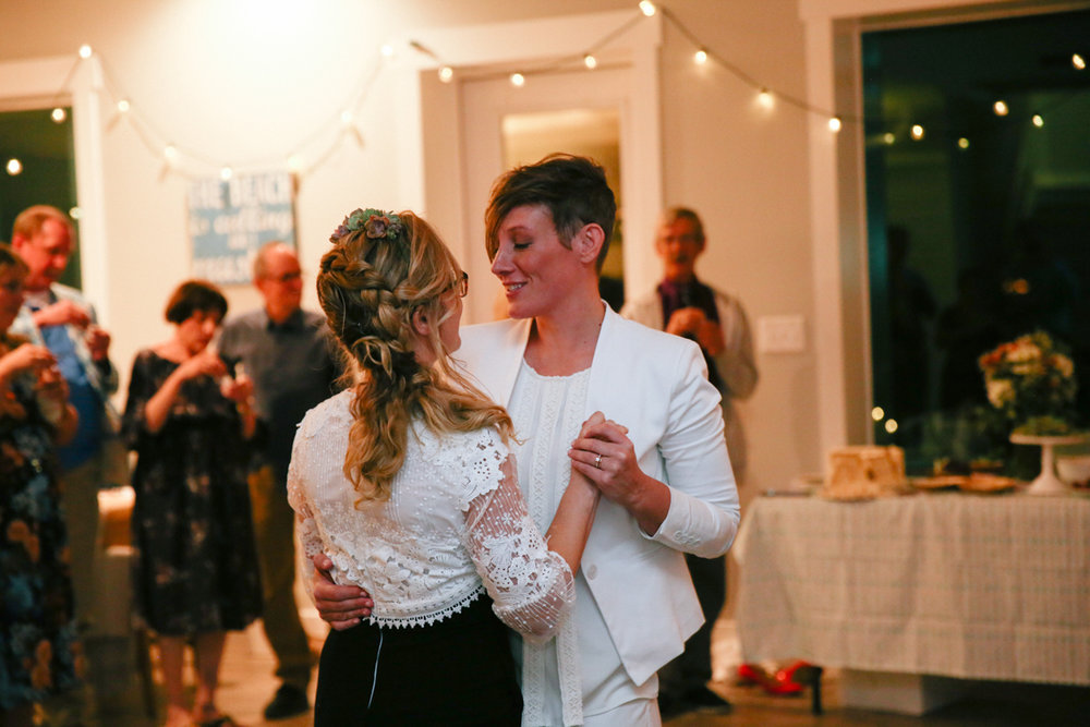 gulf shores destination wedding first dance