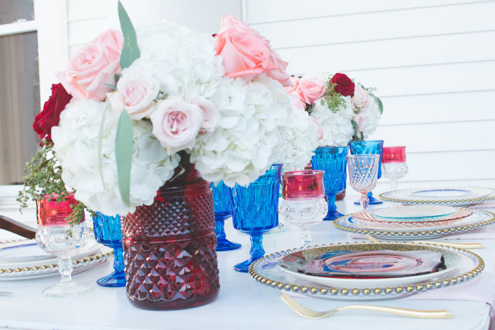 Bohemian Styled Shoot Set Table