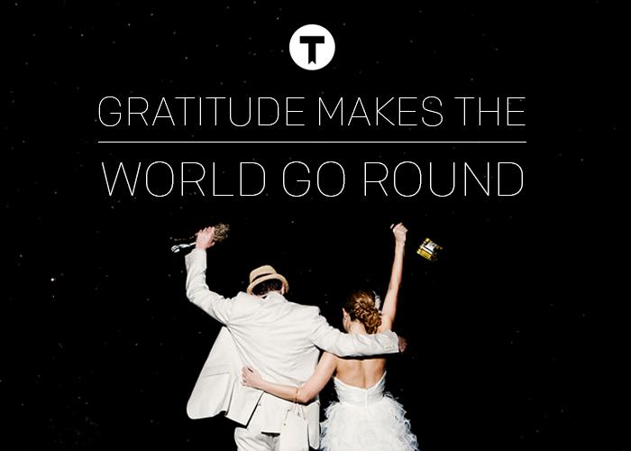 Gratitude Makes the World God Round Thankful Registry