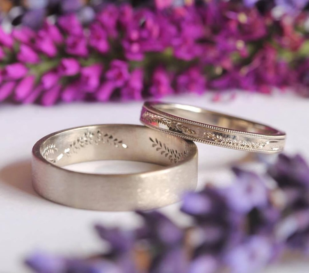 With These Rings Handmade Wedding Bands Port Townsend Washington Stephanie Selle DIY