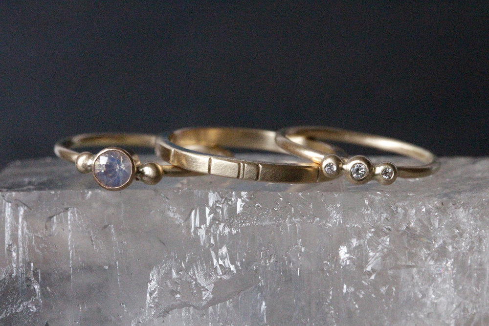 Rebecca Mir Grady Jewelry Wedding Rings Santa Fe New Mexico
