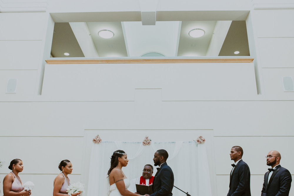 art-inspired levine museum wedding ceremony