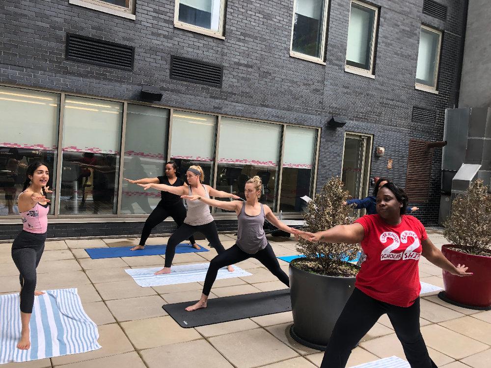 Lilia Karimi WedWell wedding planning yoga mindfulness meditation and stress reduction