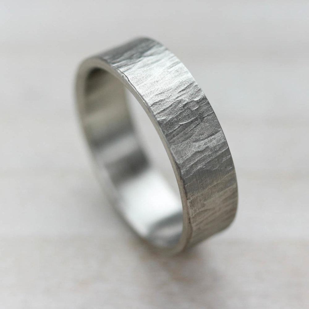 6mm Wide Wood Bark Texture Ring.jpg