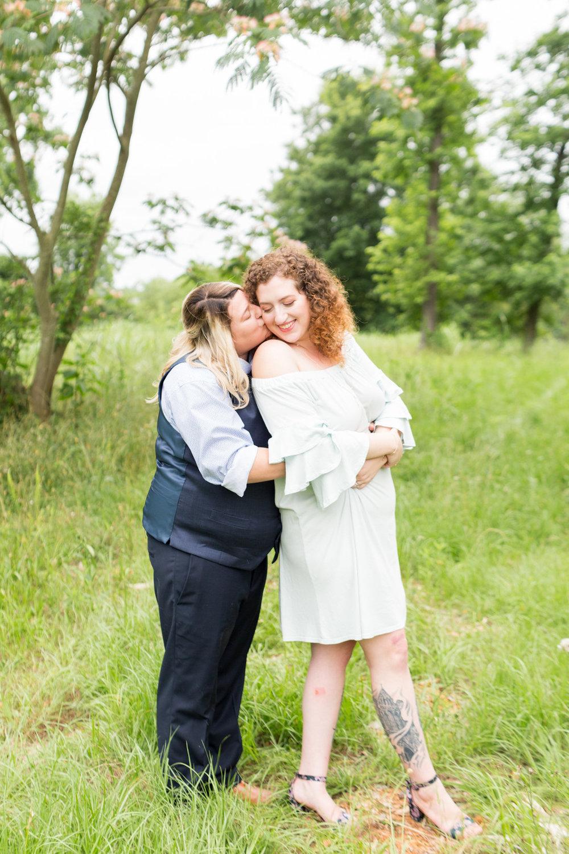 Samantha and English newlywed portraits on trail Columbia South Carolina Jessica Hunt Photography