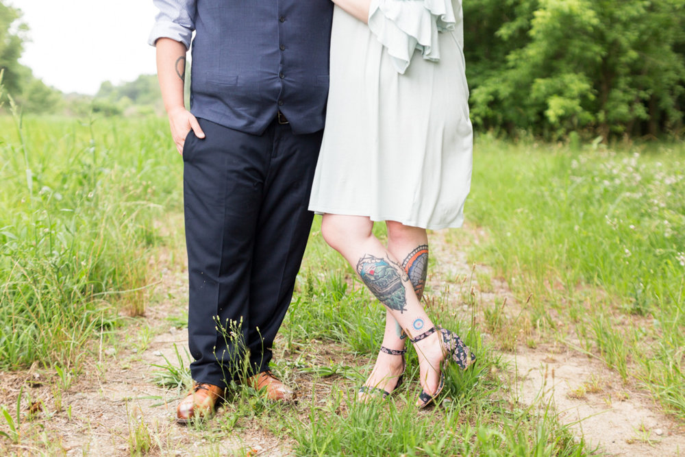 LGBTQ newlywed portraits in a field columbia south carolina jessica hunt photography