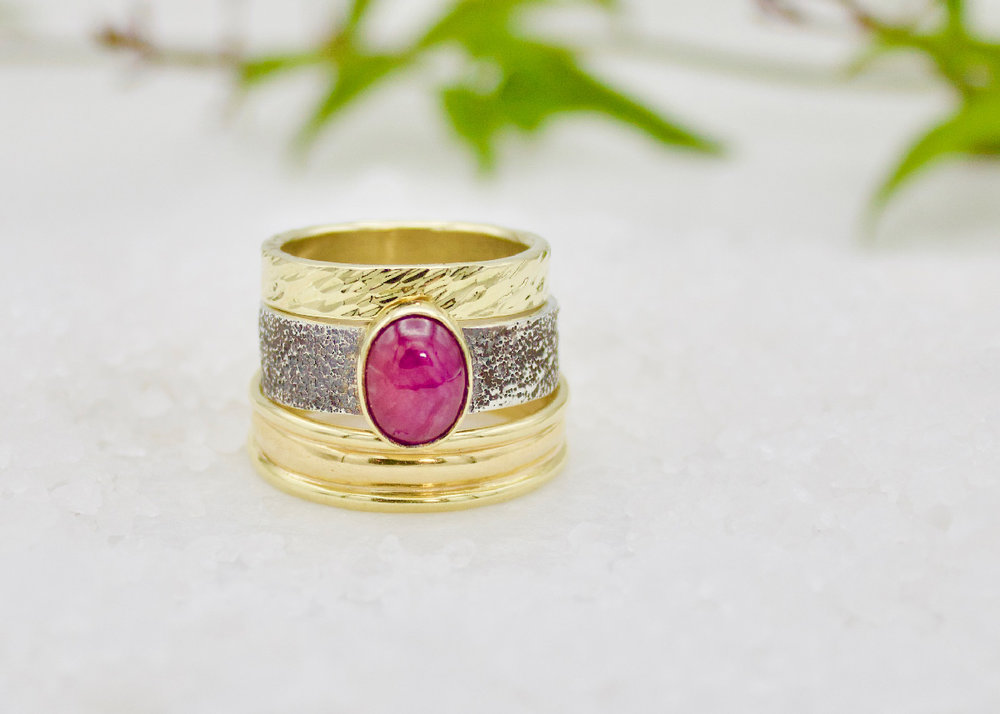 Forge & Fountain Rings
