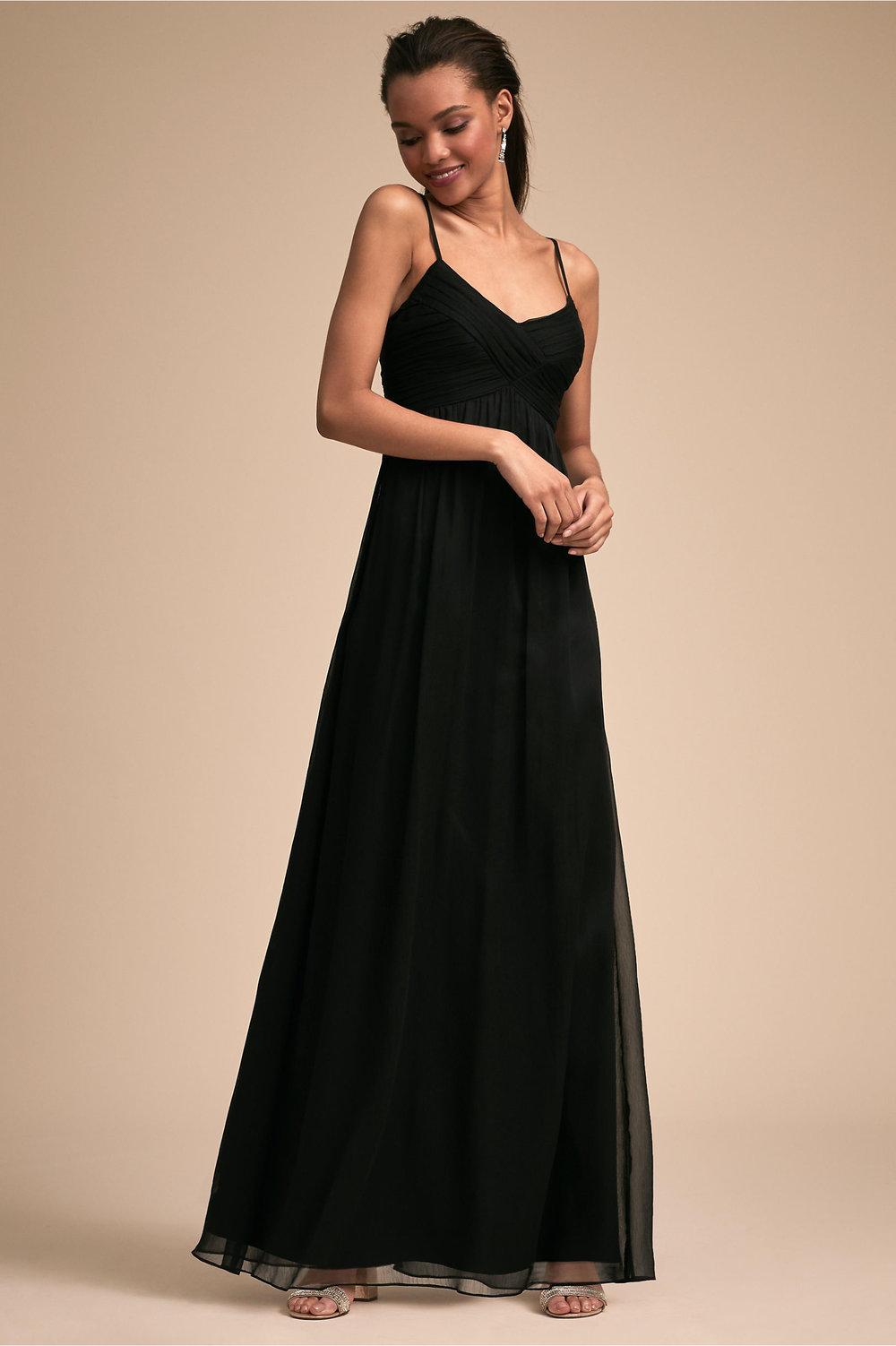 Brigitte Wedding Dress in Black by BHLDN