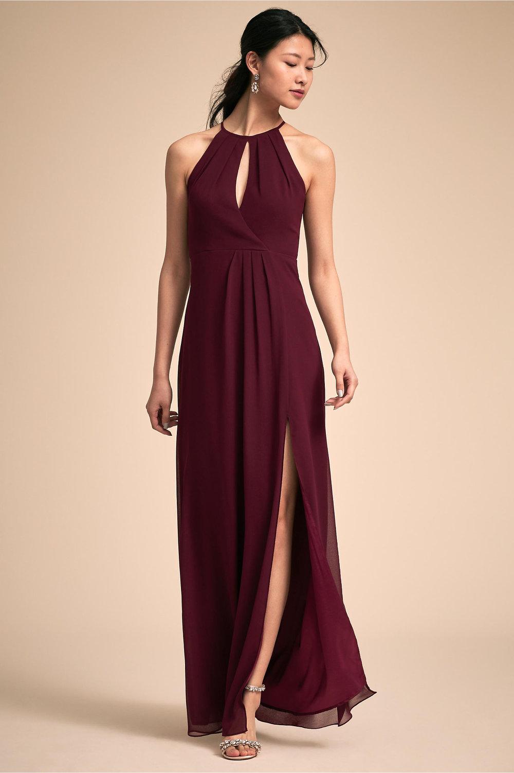 Marco Wedding Dress in Wine by BHLDN