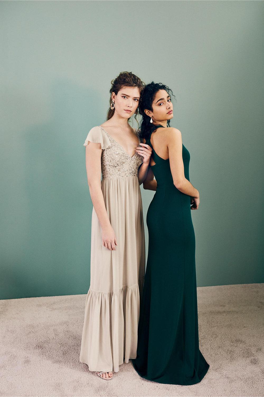 Dark Moody Wedding Dresses by BHLDN