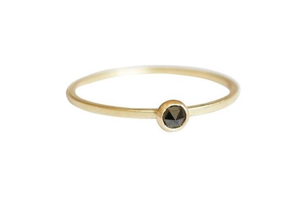 Terence Black Diamond Wedding Ring