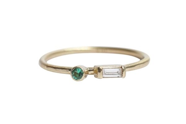 Castrée Diamond and Emerald