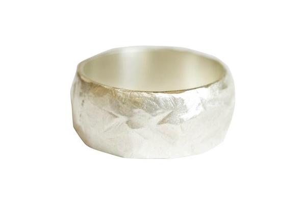 Atalaya 8mm Textured Wedding Ring