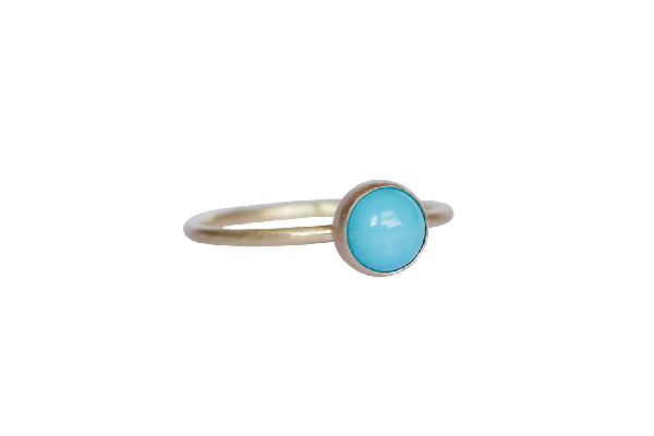 6mm Turquoise Wedding Ring