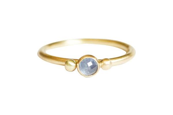 Glorieta Sapphire Wedding Ring
