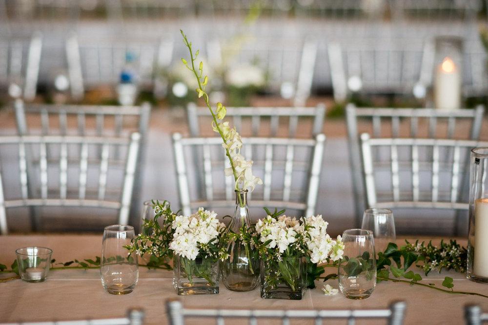 sri lankan wedding in sydney australia reception table's floral centerpieces