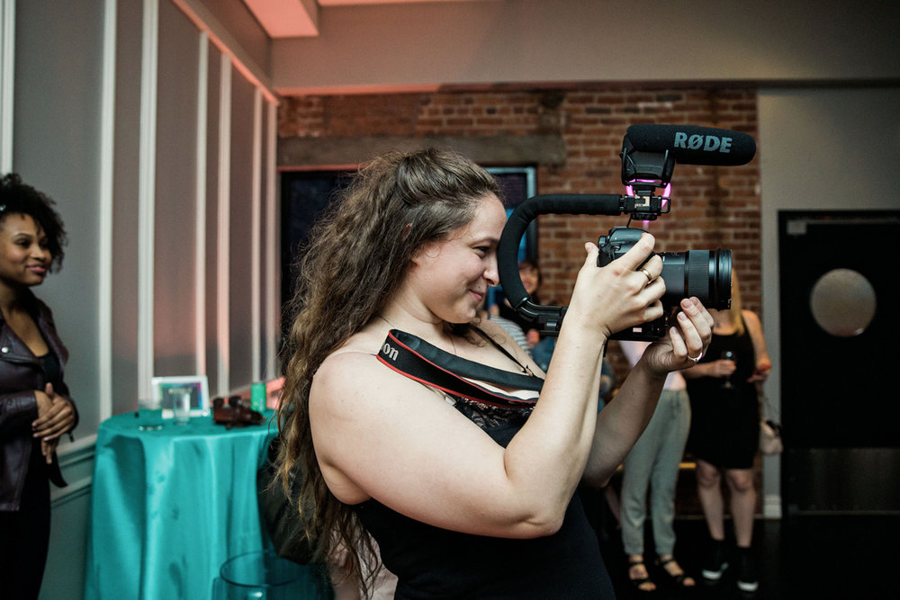 80s themed pride party brooklyn new york photographer captured taking pictures