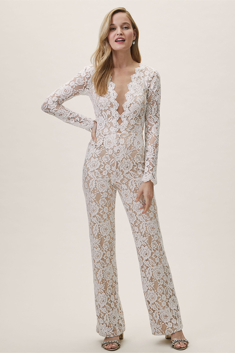 162a83eadb14 7 Wedding Jumpsuits   Bridal Separates We re Loving Right Now ...
