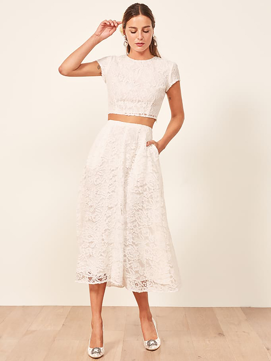 Harp Two Piece from Reformation , $448
