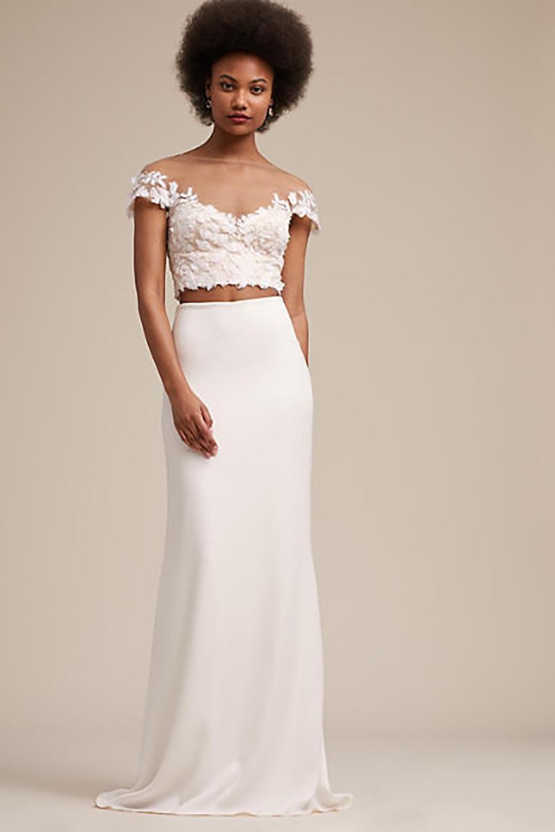 Gidley Skirt  from BHLDN, $400.00