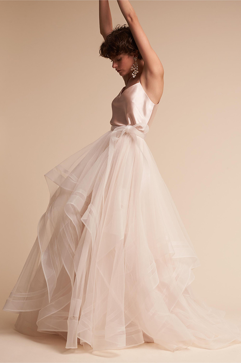 Laurel Cami Top  &  Effie Skirt  from BHLDN, $85.00 - $965.00
