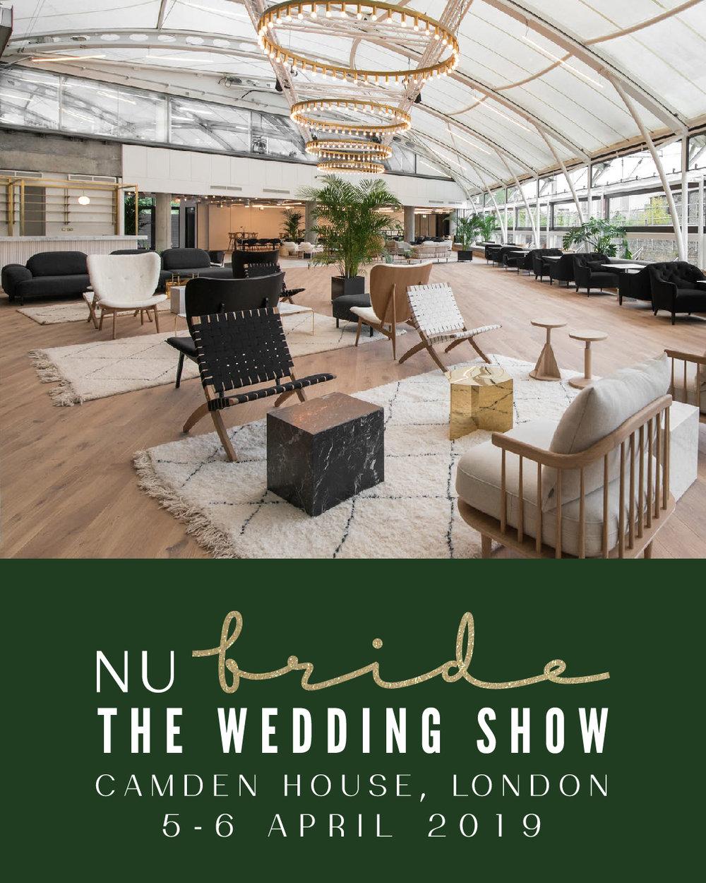 nu bride the wedding show camden house london 5-6 april 2019