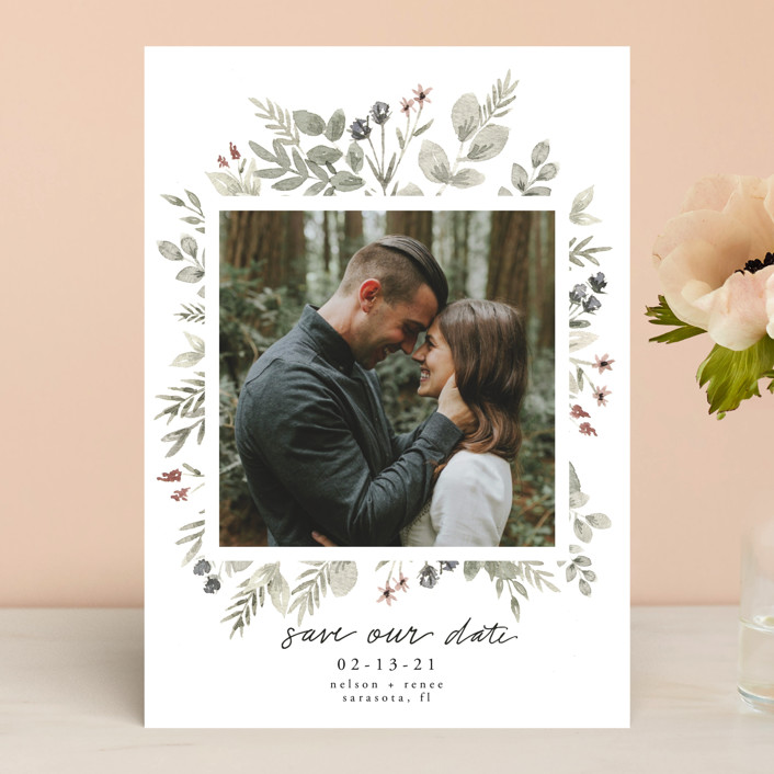 Lovely Bloom Save the Date by Cole Dawn Miller
