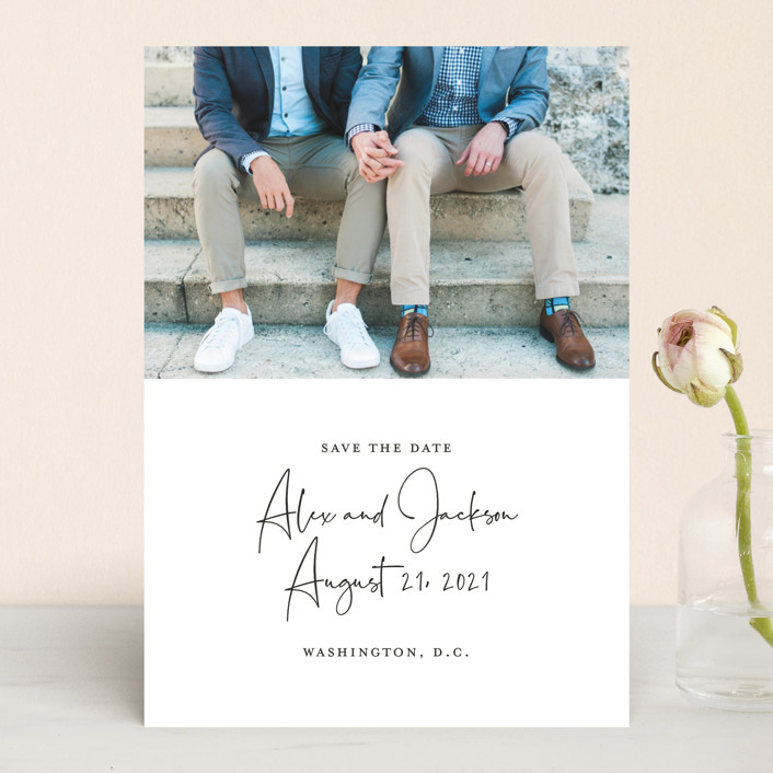 Love Letter Save the Date by Sandra Picco Design