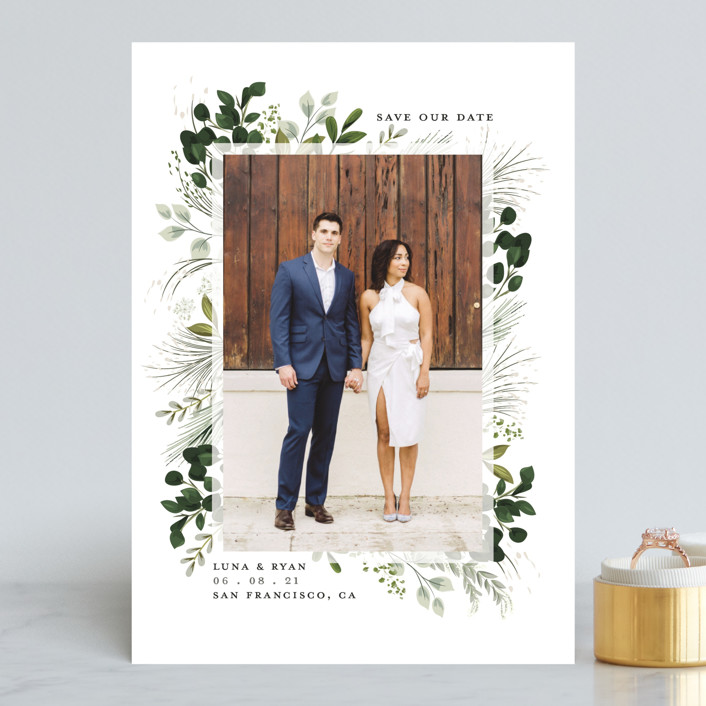 One Fine Day Save the Date by Susan Moyal