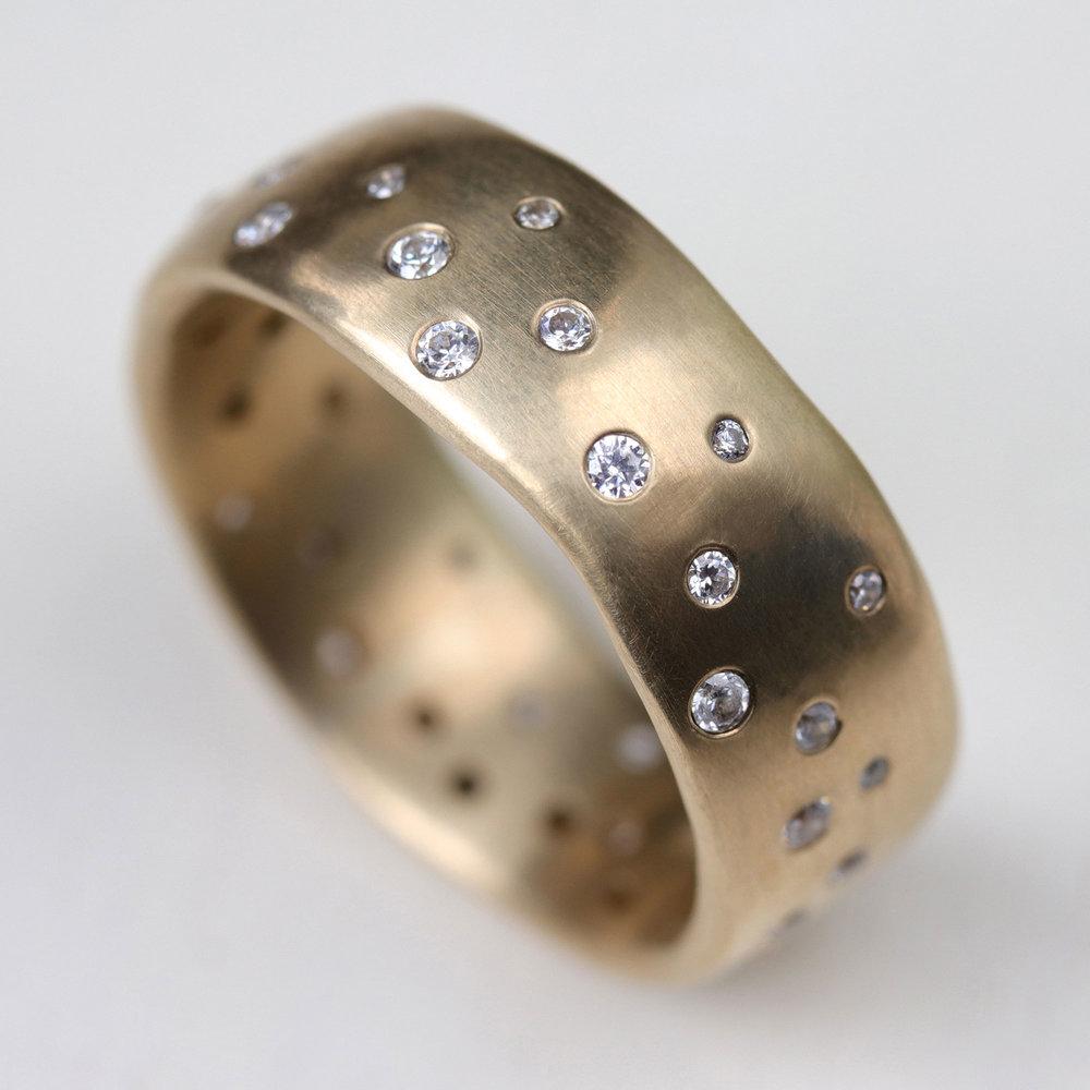 Celestial Wedding Ring