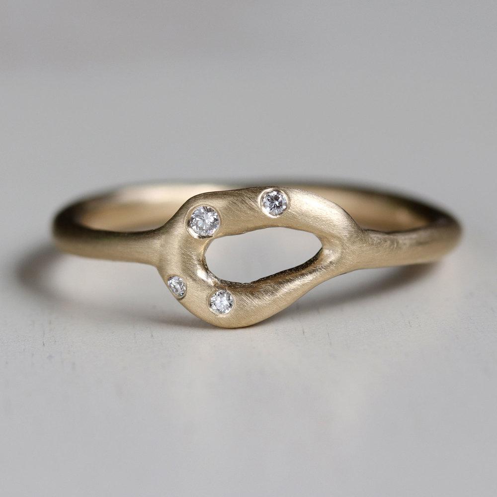 Diamond Torus Ring