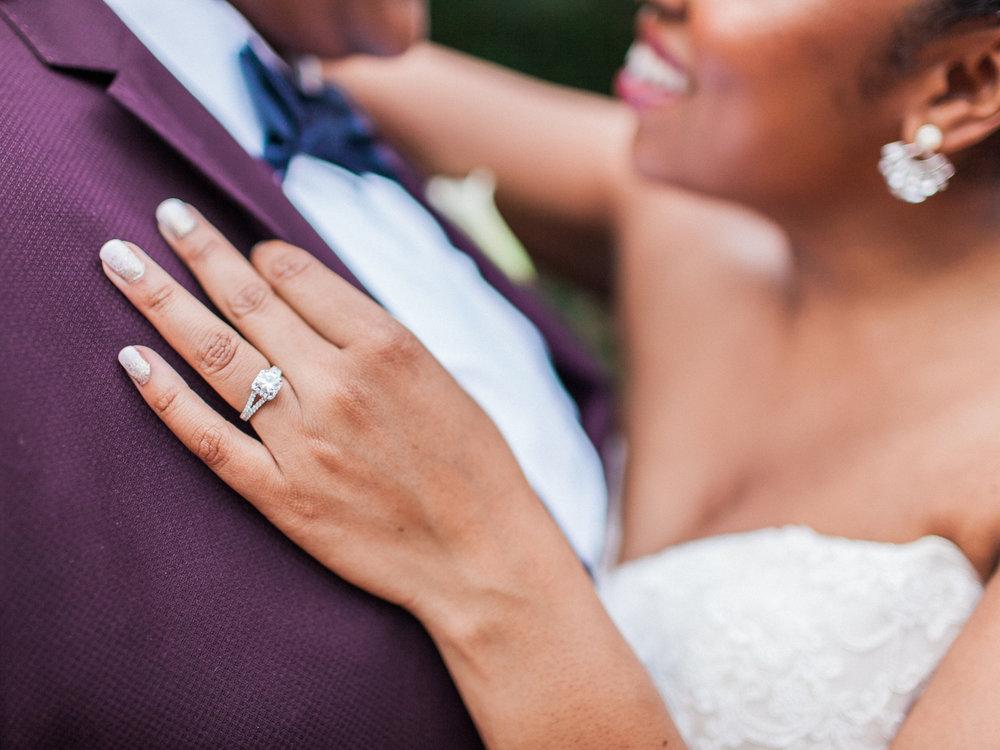 los altos lutheran same-sex wedding embrace featuring tasha's engagement ring