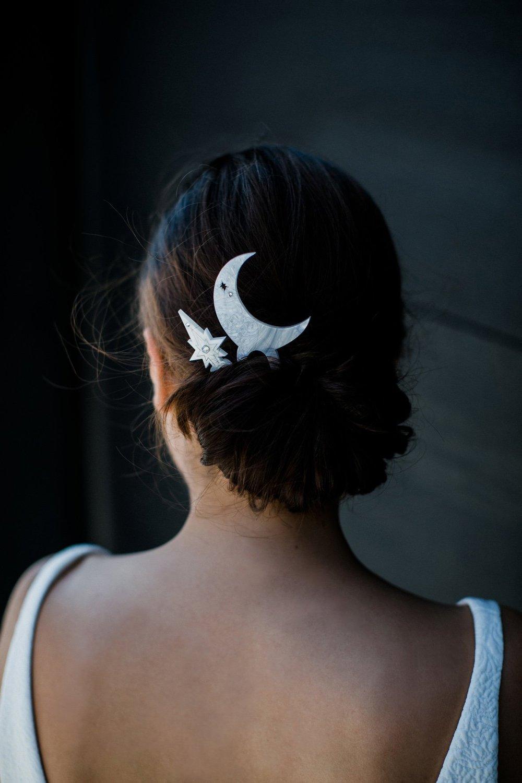 Starry Night Hair Pins