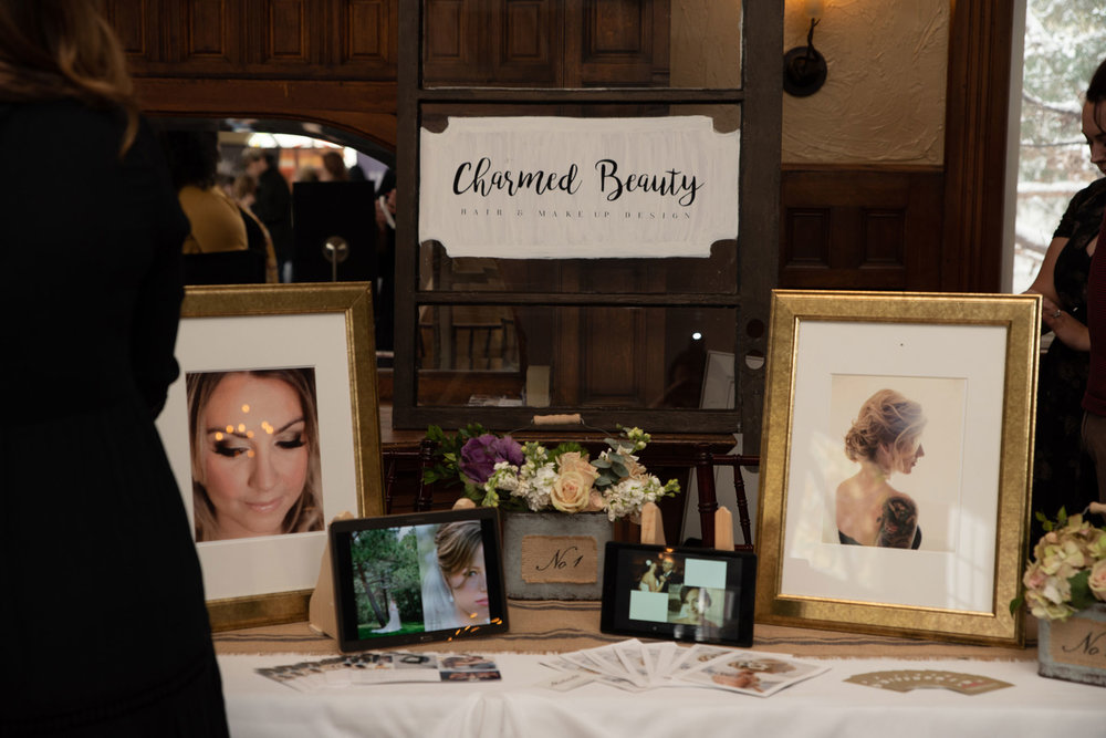 Charmed Beauty at the Cannabis Wedding Expo in Denver, Colorado. Photo by Kenesha Facello
