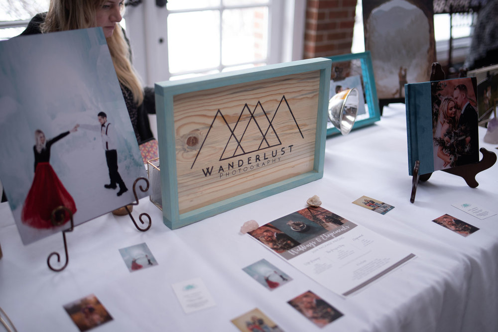 Wanderlust Photography at the Cannabis Wedding Expo in Denver, Colorado. Photo by Kenesha Facello.