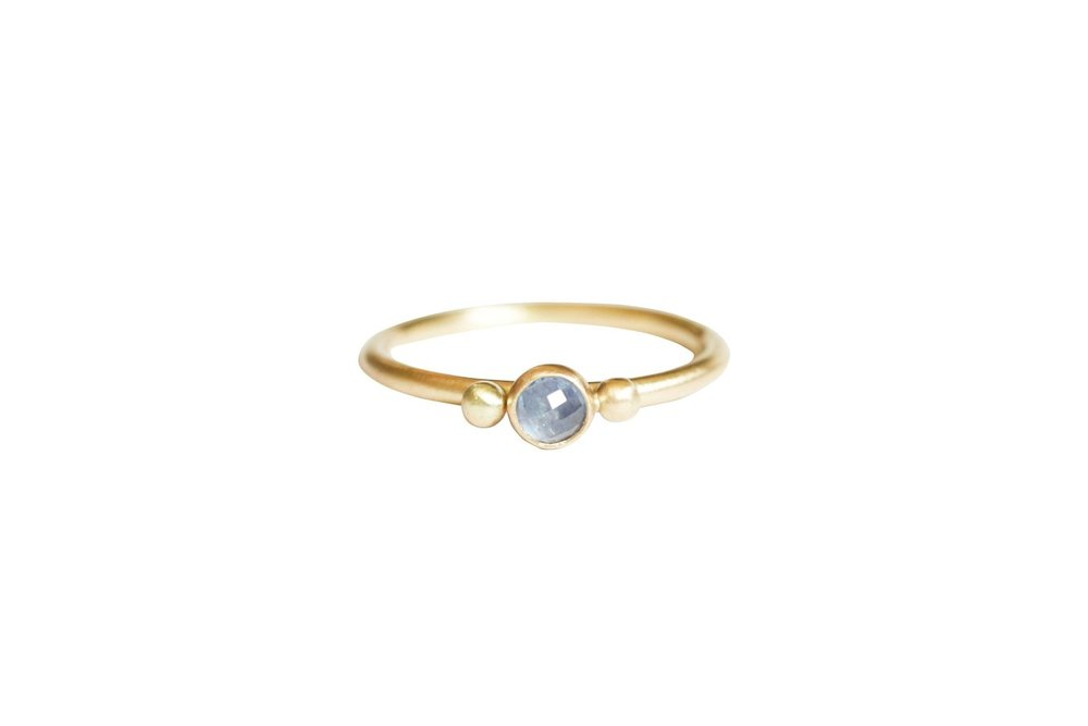 Glorieta Sapphire Engagement Ring by Rebecca Mir Grady