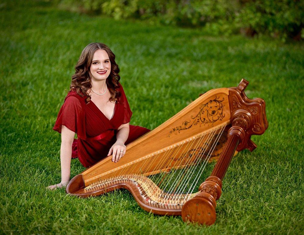 kristie smith las vegas wedding harpist