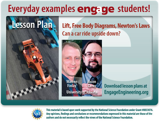 Lift, Free Body Diagrams, and Newton's Laws