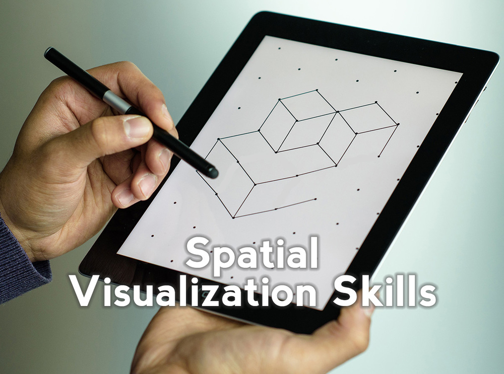 Improve the Spatial Visualization Skills (SVS) of students to increase their success in gateway courses in engineering. Click here to learn about the research behind why Spatial Visualization Skills work to retain students.